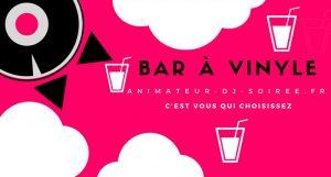Bar à vinyle - animation intéractive pour cocktail dans le 64 65 40 33 31