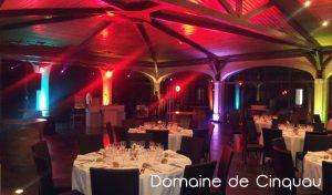 Domaine de Cinquau - salle de réception pour mariage à artiguelouve dans le 64