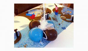 centre de table - décoration ballon