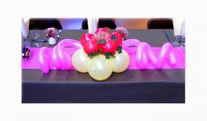 Centre de table pour noce - décoration mariage à Dax et Mont de Marsan