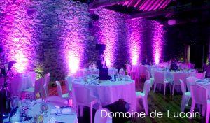 Domaine de Lucain - Salle de réception à Gan 64