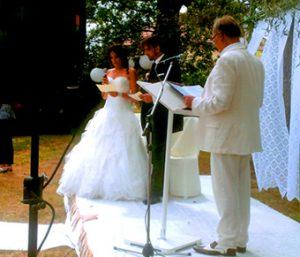 DJ animateur Officiant cérémonie d'engagement Mariage Pau Lourdes 64 65 40 33 31
