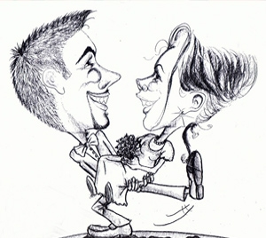 Caricature animation mariage enfant Pau Biarritz Dax 64 65 40 33 31