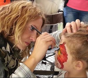 Maquillage enfant animation mariage à Pau Biarritz Bordeaux 64 65 40 33 31